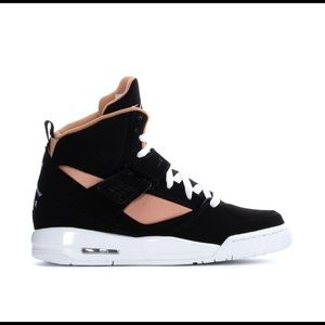 NIKE AIR JORDAN FLIGHT 45 BLACK ROSE GOLD Shoes